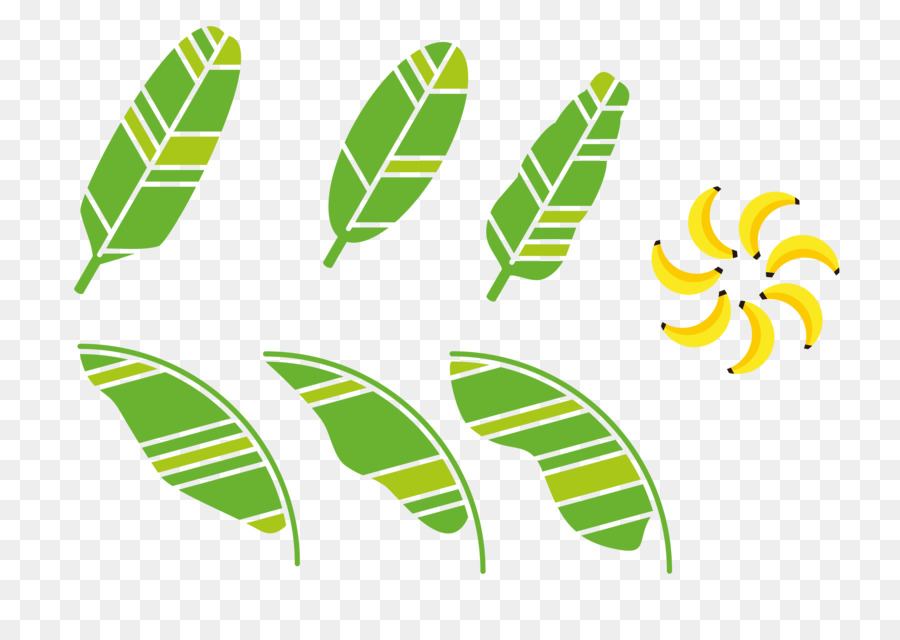 banana leaf clipart subpng