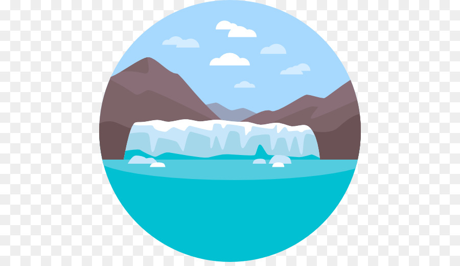 Cartoon winter landscape with iceberg and ice - vector nature Stock Vector  Image & Art - Alamy