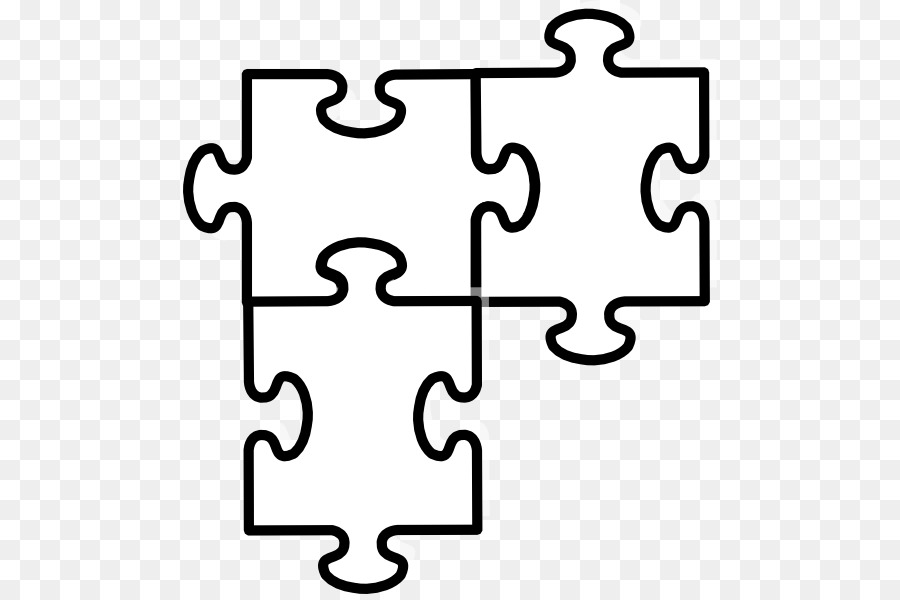 36 Pieces Puzzle Template Vector Stock Photo