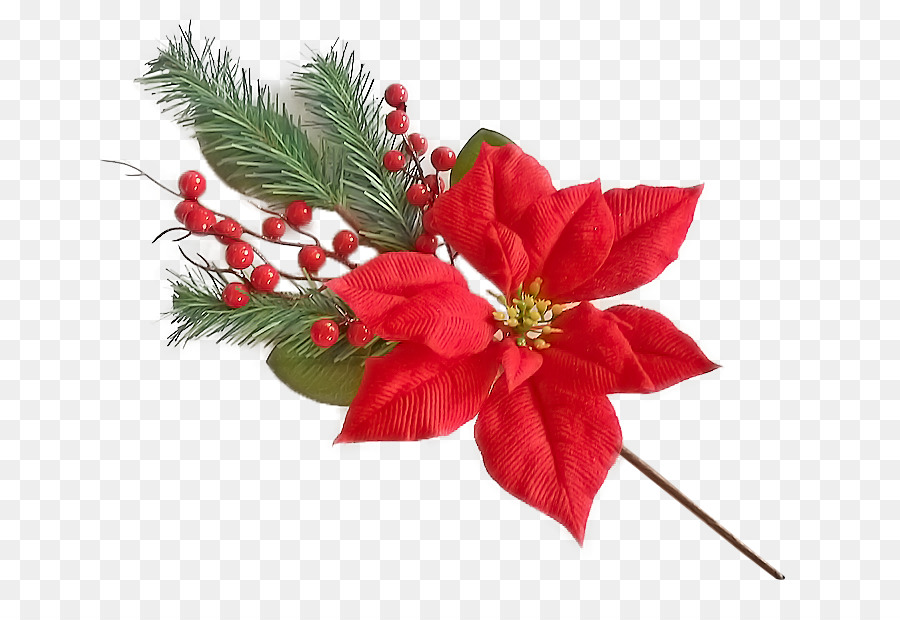 Merry Christmas Clipart Flower - Full Hd Png Flower Transparent Png  (#93573) - PinClipart