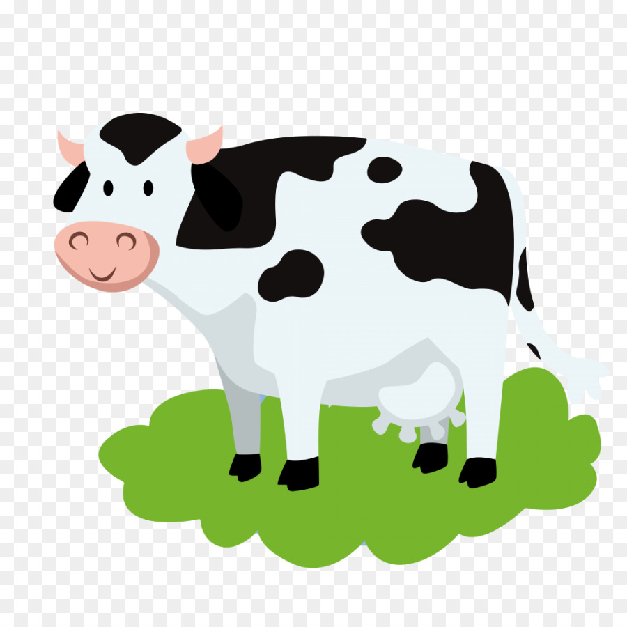 Holstein Friesian cattle Highland cattle Water buffalo Calf, clarabelle cow  transparent background PNG clipart | HiClipart