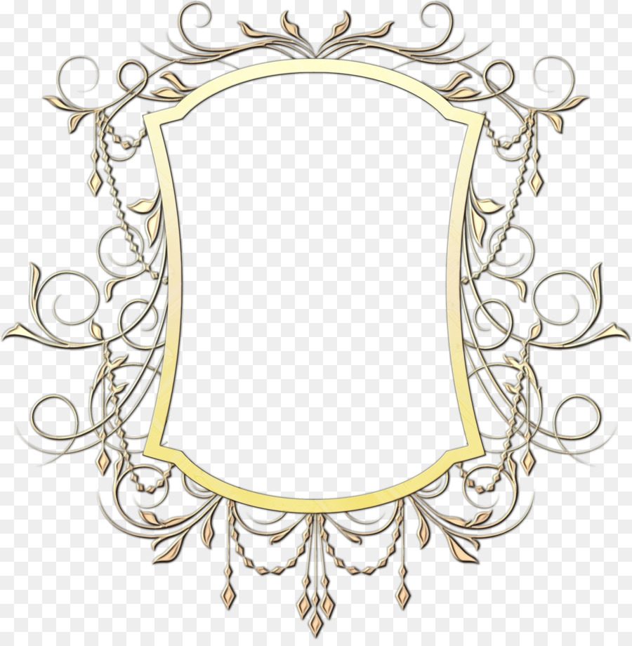Gold Background Frame