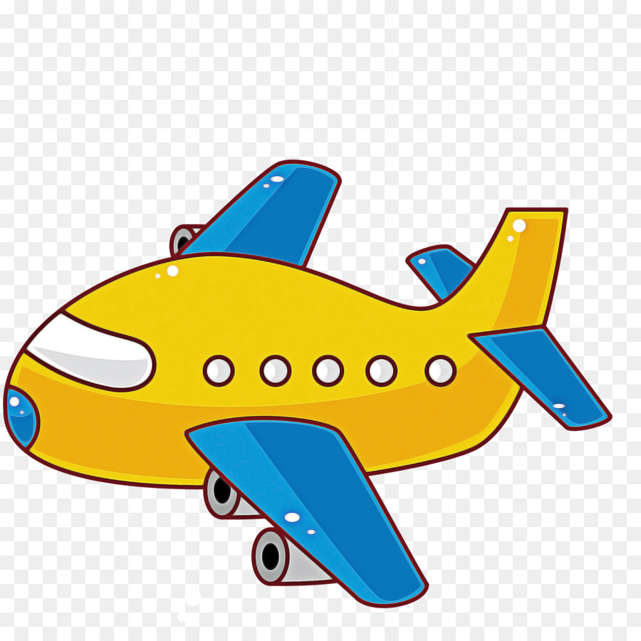 Airplane Aircraft Cartoon Air Travel Vehicle