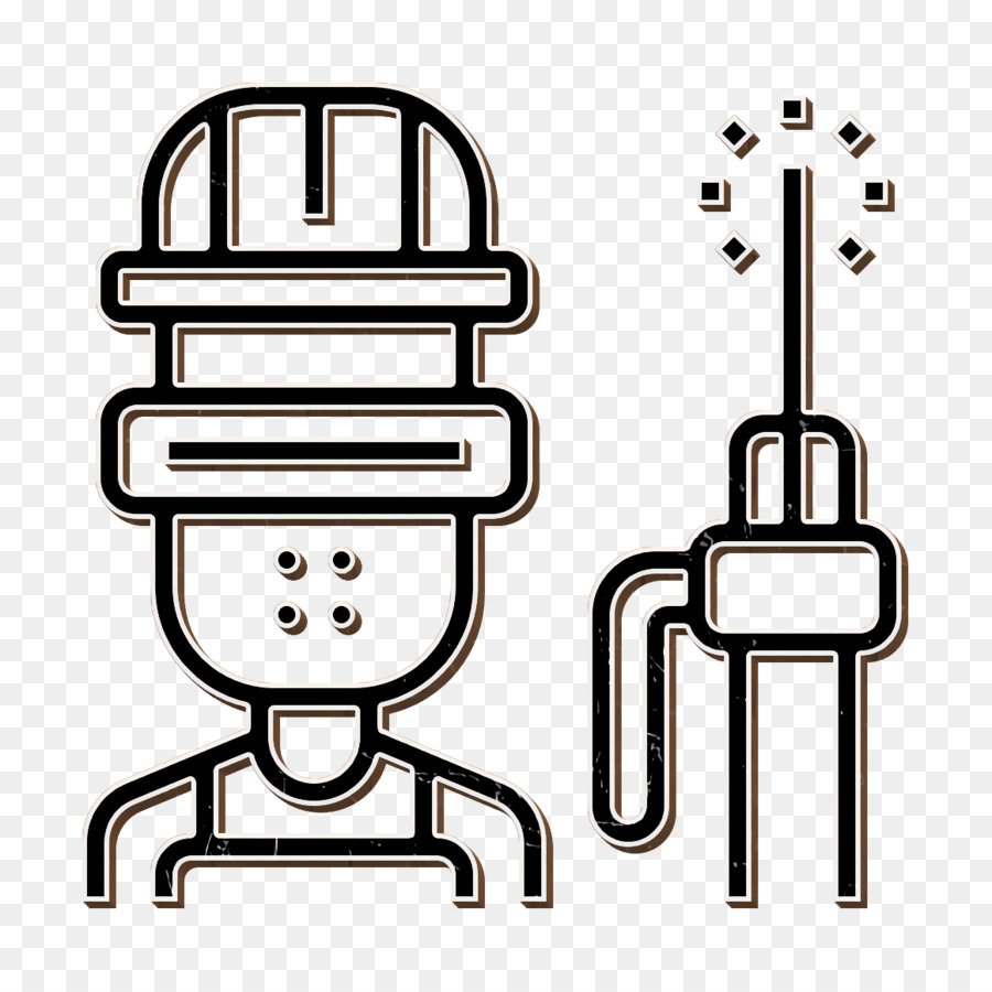 Welder Icon Career Icon