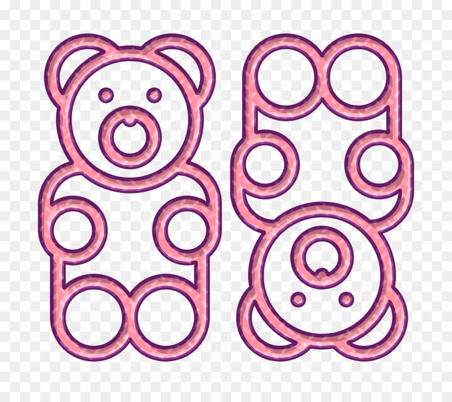 gummy bear icon food and restaurant icon candies icon gummy bear icon food and restaurant