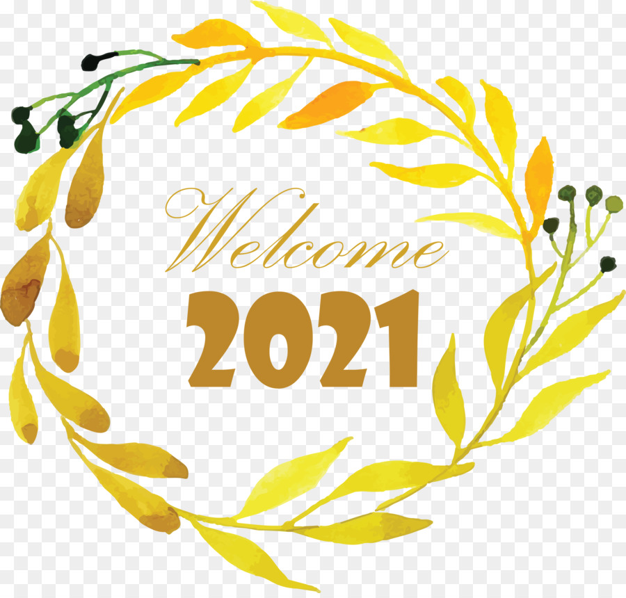 Happy New Year 2021 Welcome 2021 Hello 2021